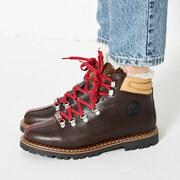 Lederschuhe Town 3 von 'Ammann Shoes' in Dunkelbraun