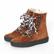 Winterstiefel Aosta von 'Ammann Shoes' in Cognac