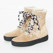 Winterstiefel Aosta von 'Ammann Shoes' in Cappuccino