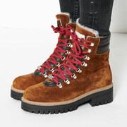 Winterschuhe Veyvey Velour von 'Ammann Shoes' in Cognac