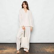 Gepunktetes Pyjama-Set aus Baumwolle