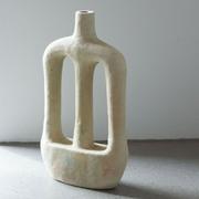 Skulpturesker Kerzenständer 'Ramie'