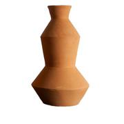 Vase 'Zigzag' mit grafischer Form