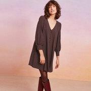 Kurzes Polka-Dot-Kleid von 'Des Petits Hauts'