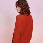 Lurex-Pullover von 'Des Petits Hauts' in Ginger