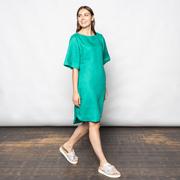 Leinenkleid von 'Anja Sun Suko' in Green