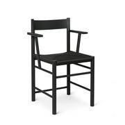 'F Dining Chair' mit Armlehne