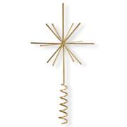 Schlichte Weihnachtsbaumspitze 'Star'
