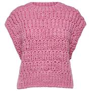 Statement Knitvest von 'Selected Femme' in Pink
