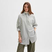 Oversize Streifenhemd von 'Selected Femme'