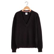 Pullover mit V-Ausschnitt von 'Collectif mon Amour' in Schwarz