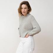 Sweater Helo von 'Jungle Folk' in Light Grey