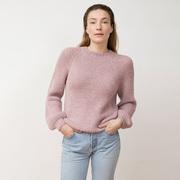 Sweater Ximena von 'Jungle Folk' in Himalaya Pink