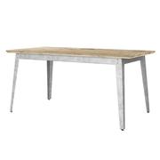 Outdoor-Tisch '6Grad' mit Bauholz