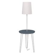 Nachttisch mit Lampe 'LC 47'