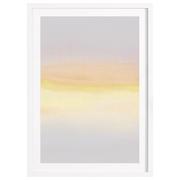 Gerahmter Print 'Pastel Sunrise'