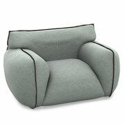 Wie eine Wolke: Breiter Sessel 'Nuvola'