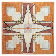 Handgeknüpfter Teppich 'Bold Geometrics 2'