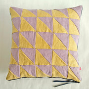 Geometrisch gemustert: Kissenhülle 'Tangram 3'