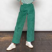 Liebste Cord-Culotte in Green