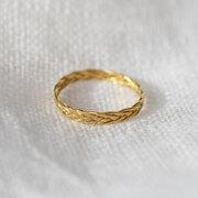 Geflochtener feiner Ring von 'Yoshiki'
