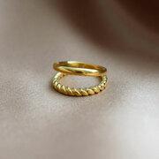 Raffinierter Double Ring von 'Yoshiki'