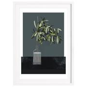Gerahmte Illustration 'Olive'
