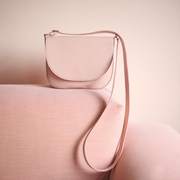 Satteltasche in Himbeersorbet oder Blush