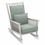 Schaukelstuhl 'Gray' mit Sitz- und Rückenpolster