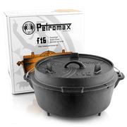 Der 'Petromax-Feuertopf' mit Füssen