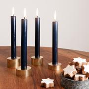 Advents-Kerzensockel im 4er-Set