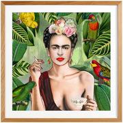 Kunstprint 'Frida Con Amigos'