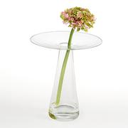 Mundgeblasene Blumenvase 'Trio'