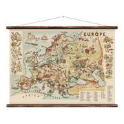 Wandkarte 'Europa' für Kinder
