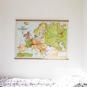 Vintage Karte 'Europe'
