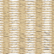 Unkomplizierter Papierschnur-Teppich