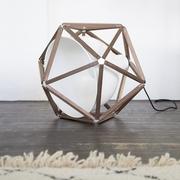 Einzelstück: Leuchte Block von 'Röthlisberger'
