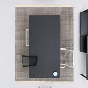 Zweifarbiger Teppich 'Duotone'