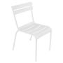 Fermob Luxembourg Stuhl Weiss 01 Stuhl ohne Armlehnen