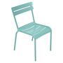 Fermob Luxembourg Stuhl Lagunenblau 46  Stuhl ohne Armlehnen