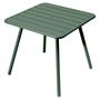 Fermob Luxembourg Tisch Zederngrün 02 80 x 80 cm mit 4 Füssen