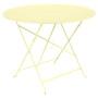 Fermob Tisch Bistro Rund  Zitronensorbet A6,  ø 96 cm