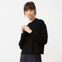 Schwarzer Strick-Sweater von 'Jungle Folk'