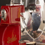 Aufschnittmaschine Berkel Volano mit Sockel