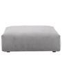 Vetsak Sofa Seat Large Cord Velour - Hellgrau