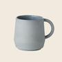 Schneid Cup Keramik, Blaugrau