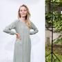 Anja Sun Suko Entspanntes Maxikleid von 'Anja Sun Soku' S