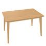 Ton Tisch 'Jylland' 120 x 80 cm, Eiche, Natur lackiert