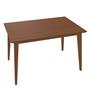 Ton Tisch 'Jylland' 120 x 80 cm, Eiche, Nougat gebeizt (B114)