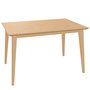 Ton Ausziehbarer Tisch 'Jylland' 90 x 140 - 200 cm, Buche, Natur geölt